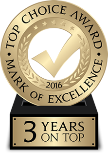 Top Choice Award 2016 for Vaughan Air Conditioning and Heating