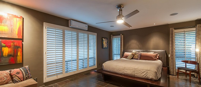 how a ductless air conditioner looks in a room