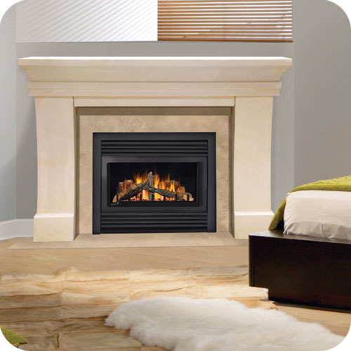 Continental Cdv33 Gas Fireplace Direct Venting Gas