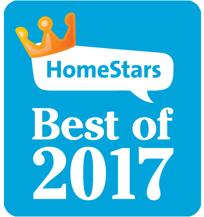 HomeStars Best of 2017 Logo