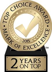Top Choice Award 2015
