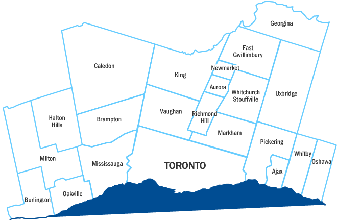 Husky Toronto Service Area