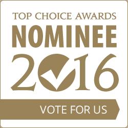 Top Choice Award Nominee 2016