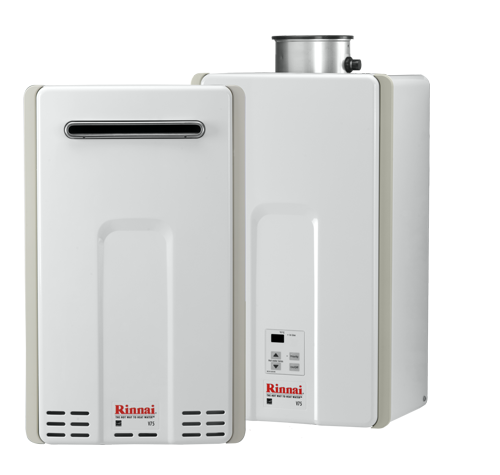 rinnai tankless water heater value series