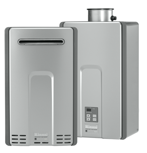 rinnai tankless water heater luxury series
