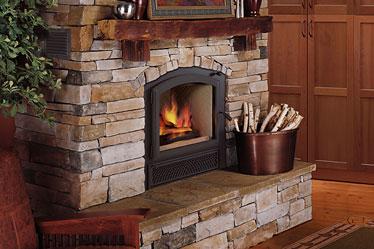 wood burning fireplace. Villa Vista  Lennox Wood Burning Fireplace Toronto