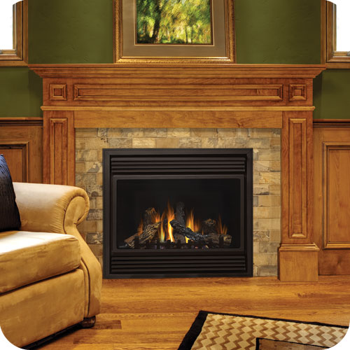 Gas Fireplace: Continental CDV36 Gas Fireplace In Toronto