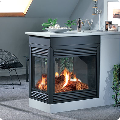 Continental Bcdv40 Gas Fireplace Small And Energy Efficient