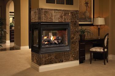 Lennox Merit Mpd35pf Peninsula Gas Fireplace