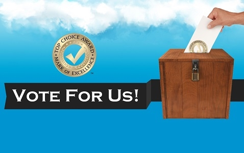 Vote for us in the Top Choice Awards 2017