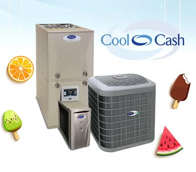 promo carrier cool cash rebate