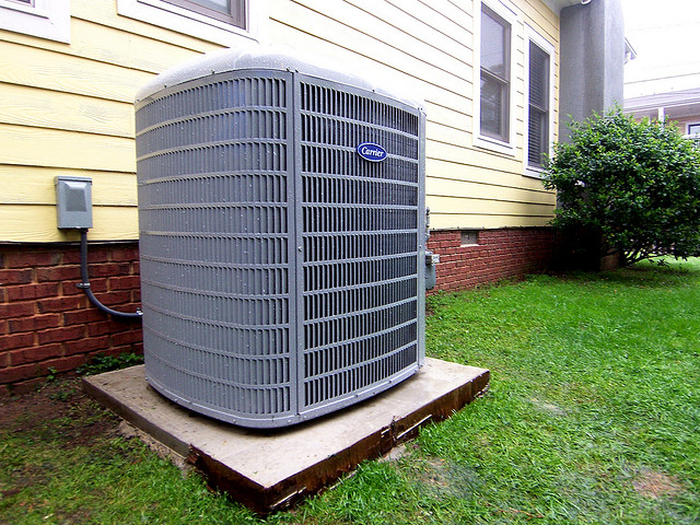 Carrier-AC-landscaping