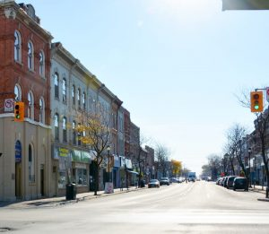 Downtown Whitby, Ontario